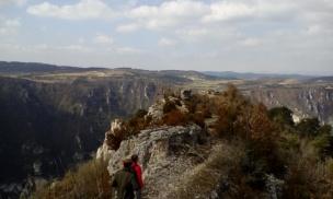 L'Esquina d'Ase au dessus des Vignes. Randonnée dans les Gorges du Tarn